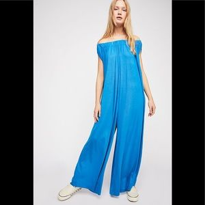 Free People Mexicali Maxi Wide Leg Jumpsuit